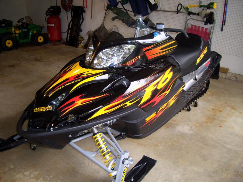 2004 arctic cat f6